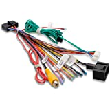 Car Stereo Radio Arn/és de cableado Adaptador de cable Receptor est/éreo Kit de conector de arn/és de cables Puerto de 16 pines a Mini Iso Cable de cableado de 8 pines Se adapta a Pioneer 2003-on