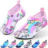DigiHero Kids Water Shoes-Quick Dry Non-Slip Water Skin Barefoot Swim Water Shoes Children Aqua Socks for Beach Pool for…