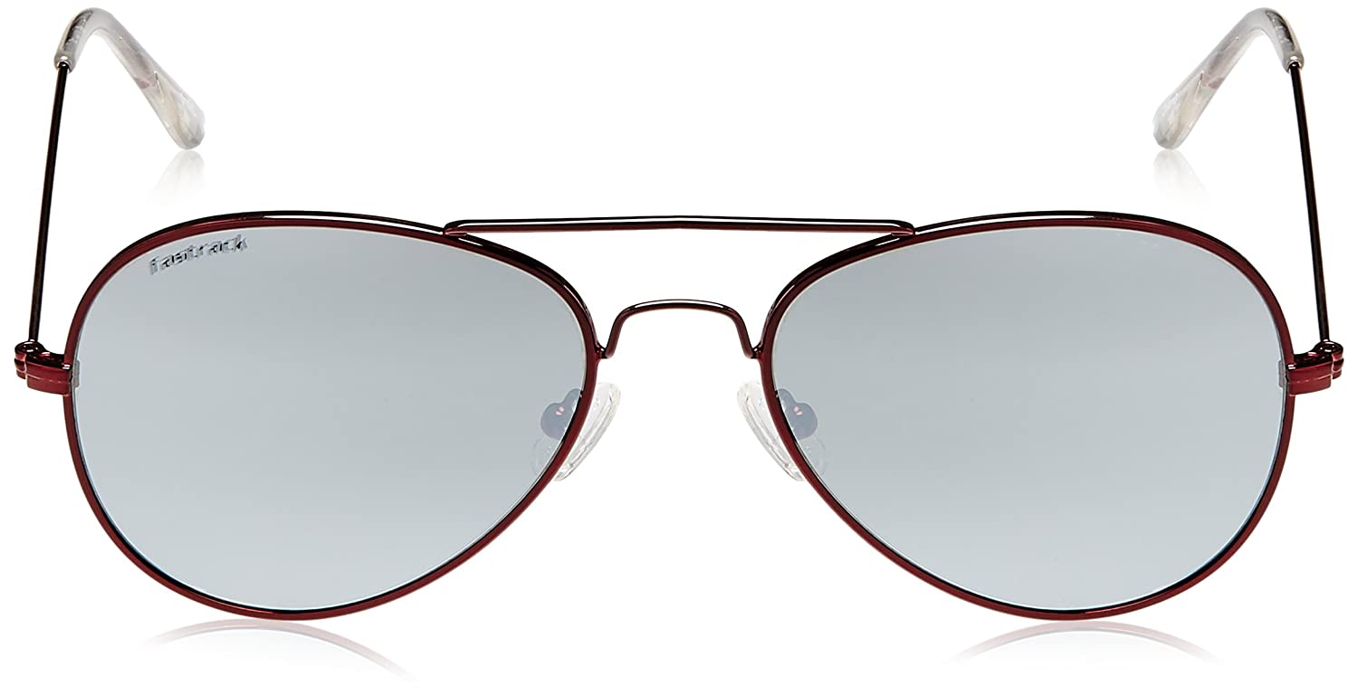 a053106613 Fastrack Springers Aviator Sunglasses (Brown) (M139BK2F)  Amazon.in   Clothing   Accessories