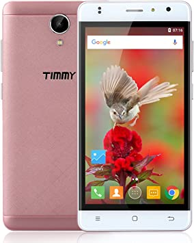 TIMMY M50 LTE 4G Smartphone (Android 6.0 práctico, 2GB Ram + 16GB ...
