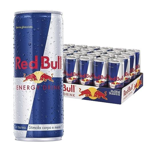4 opinioni per Red Bull Energy Drink 250ml (cartone da 24)