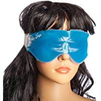 SoulGenie Healthandyoga Relaxing Gel Eye Mask with Stick-On Straps