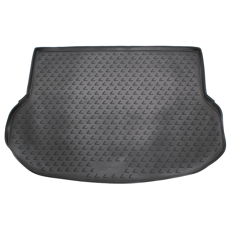 Novline MAT011 Custom Tailored Fit Black Rubber Boot Liner Tray Mat