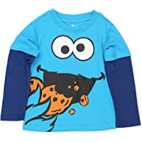 Sesame Street Baby Boys Novelty Infant and Toddler Shirts