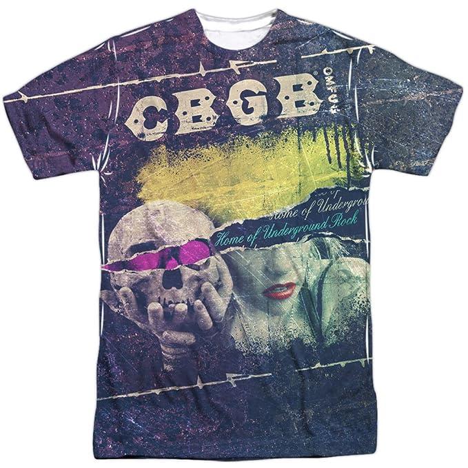 CBGB Desgarrada camisa md sublimación para hombre: Amazon.es: Ropa y accesorios