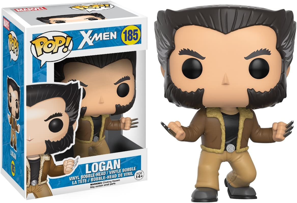 Funko-Pop Marvel X-Men-Logan #185