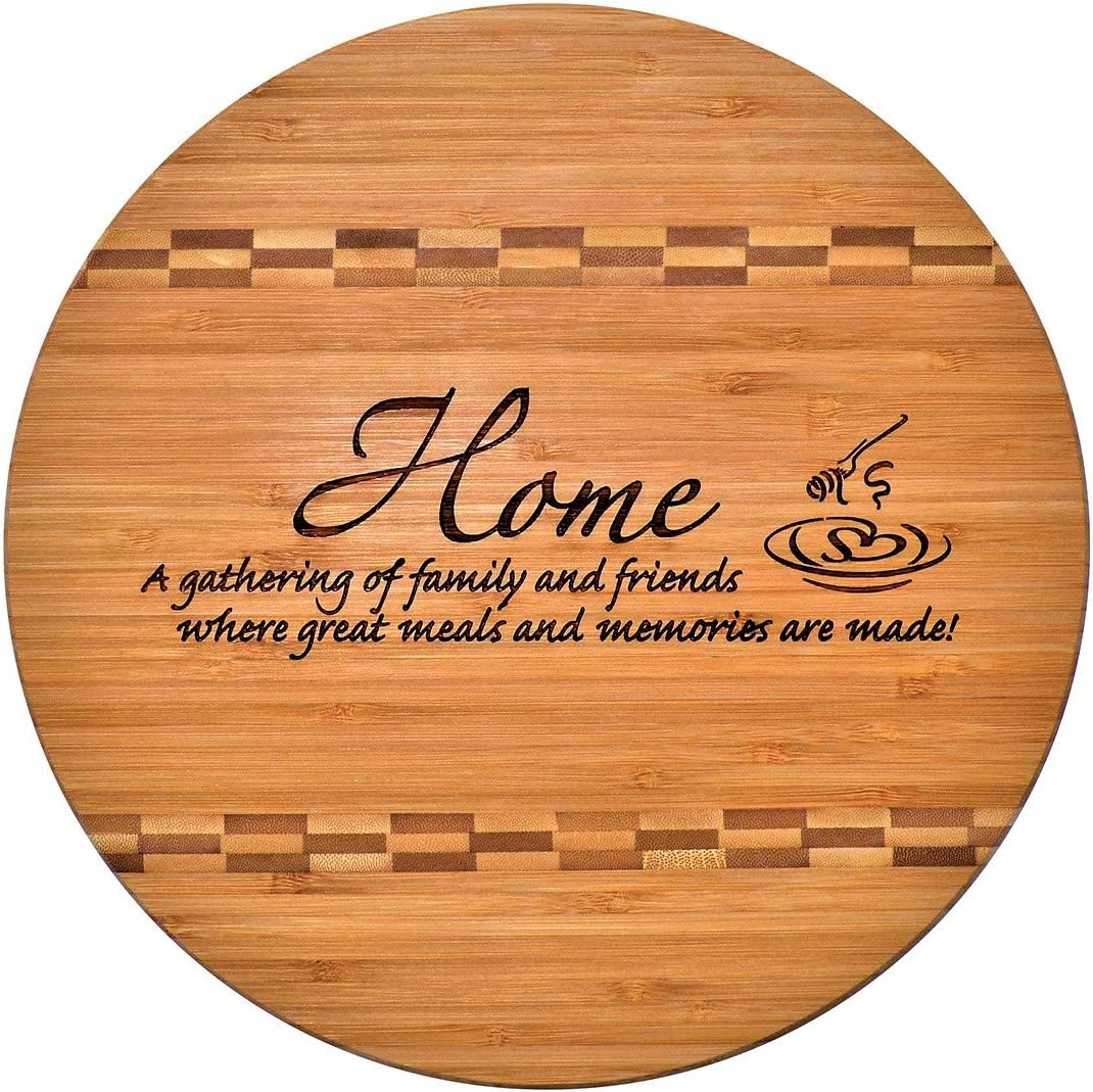 Counter top decor Housewarmingnew home gift Glass Cutting Board Gift for bee keeper Golden honey kitchen decoration Large glass trivet