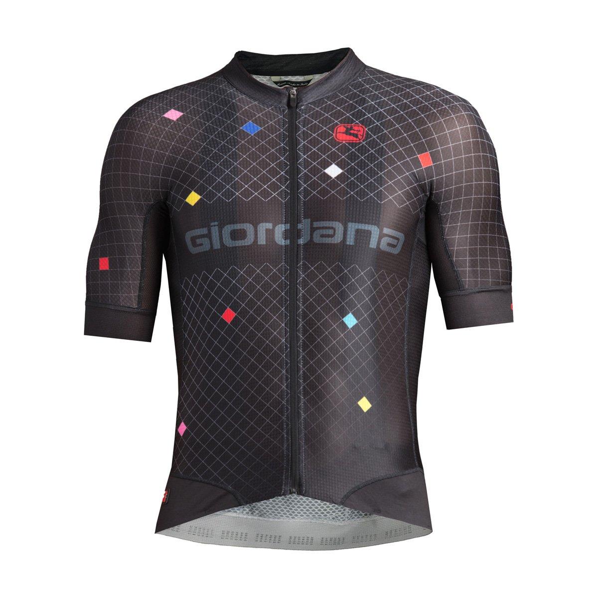 Giordana Moda fr-c Pro半袖Jersey – Men 's B0797SYQZG Small|DIAMANTE-BLACK/MULTI DIAMANTE-BLACK/MULTI Small