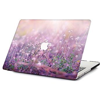 AOGGY Funda MacBook Pro 15 2015/2014/2013/2012 Versión, Plástico Dura Case Mate Carcasa con Tapa del Teclado para MacBook Pro 15 Retina (Modelo: ...