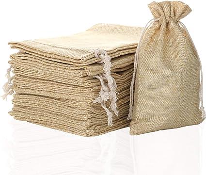 drawstring pouch craft supplies Drawstring storage bag botanical print bags /& purses sewing accessories linen craft supplies