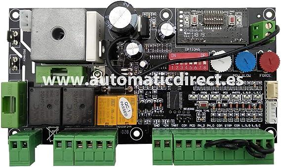 Cuadro de Maniobra de Corredera para Puertas Automática compatible con BFT Deimos BT A Hamal 24V: Amazon.es: Bricolaje y herramientas