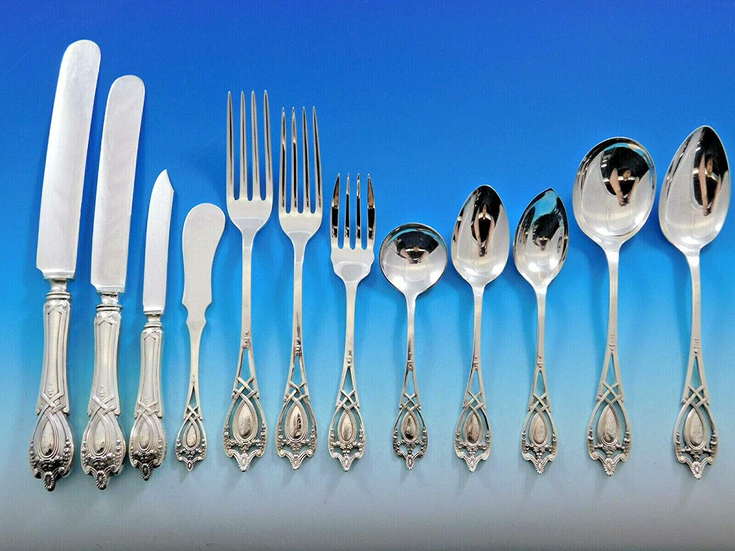 Monticello by Lunt Sterling Silver Baked Potato Fork Custom Made 7 14