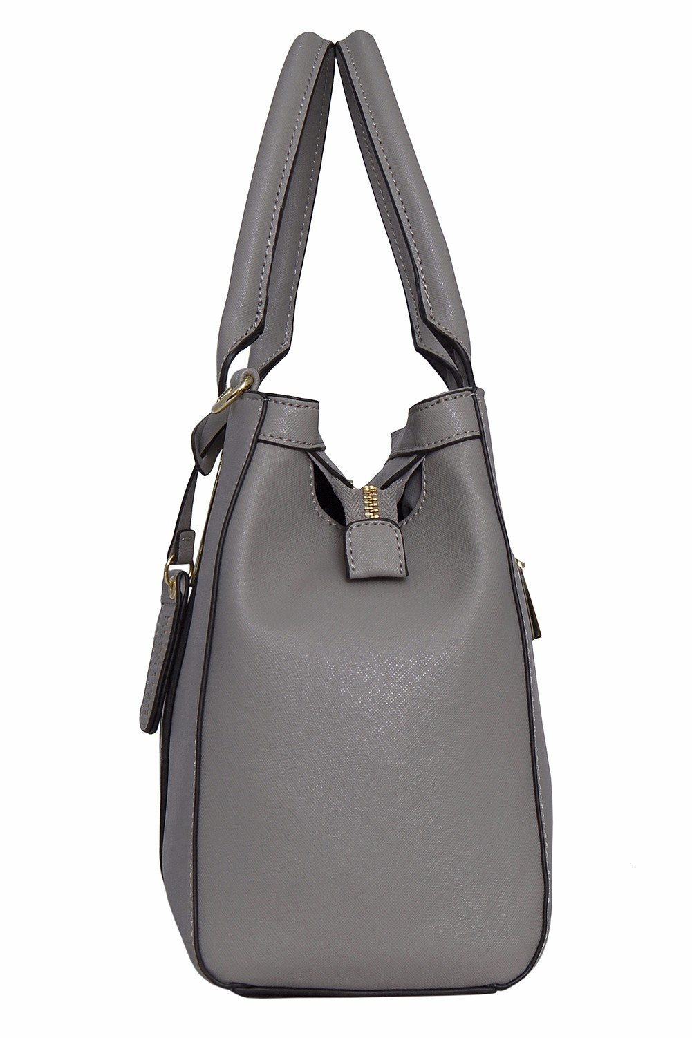 Kenneth Cole REACTION KN1860 Triple Entry Harriet Satchel Handbag (STONY BROOK) by Kenneth Cole REACTION (Image #2)