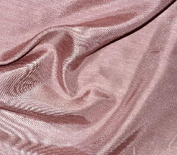 "5 Yards Shiny Bridal Satin Fabric 60/"" Eggplant"