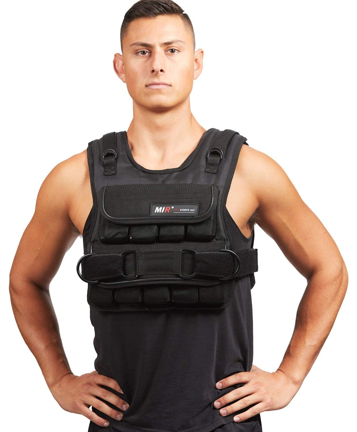 Mir Adjustable Weighted Vest, 30 lb