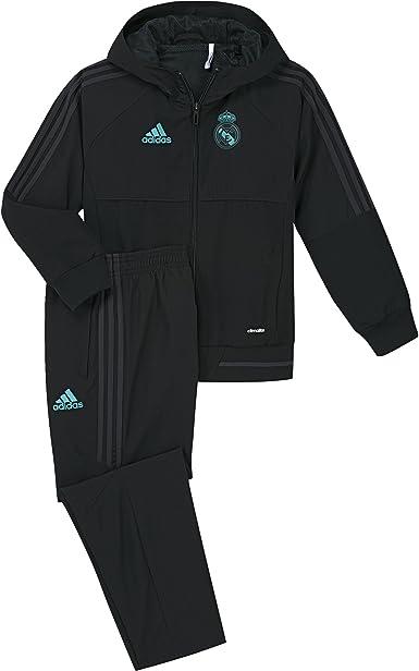 Colonos Margarita Implacable  adidas Pre I Chándal con Diseño Real Madrid Temporada 2017/2018, Niños:  Amazon.es: Ropa y accesorios