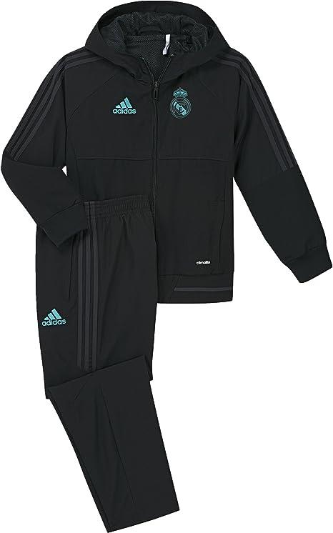 adidas Pre I Chándal con Diseño Real Madrid Temporada 2017/2018 ...