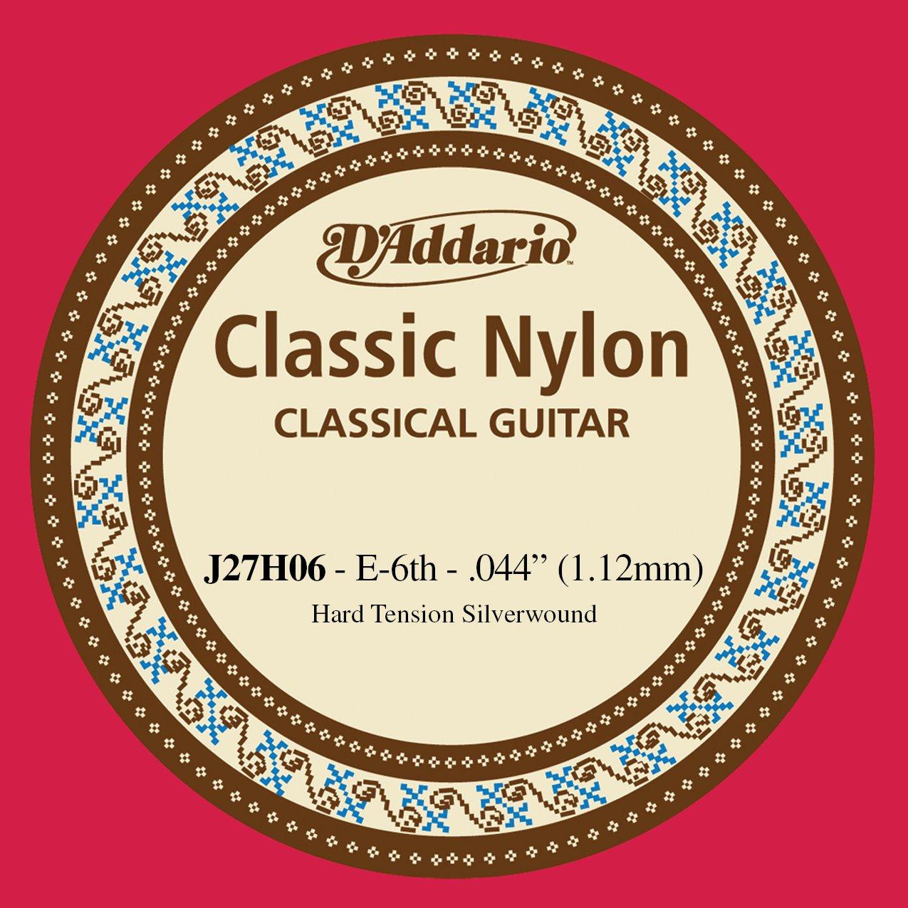 DAddario J27H06 Corda Singola Classica J27 Classic Nylon