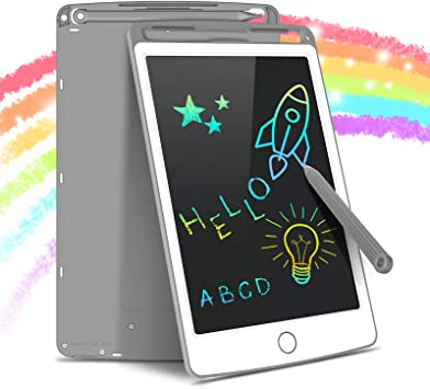 Pink Electronics Accessories 11 inch LCD Color Screen Writing Tablet High Brightness Handwriting Drawing Sketching Graffiti Scribble Doodle Board for Home Office Writing Drawing Color : Pink