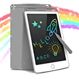 Tecboss LCD Writing Tablet Colorful Screen, Erasable Electronic Digital Drawing Pad Doodle Board, Gift for Kids Adults…