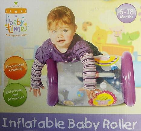 Rodillo hinchable para bebé con cascabeles - educativo ...