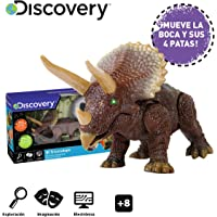 Discovery- Triceratops, Color marrón (Mide 25,5 cm