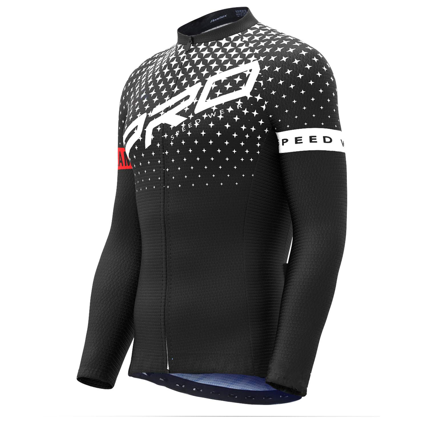 Roadbox Cycling Jersey - Men s Full Zip Moisture Wicking Running Long Sleeve  Tops Mountain Bike Biking 073833cd9