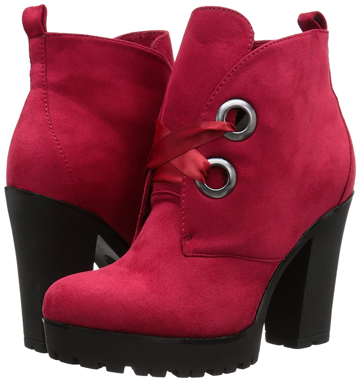 2 Lips Too Women's Too Access Boot 8 Red