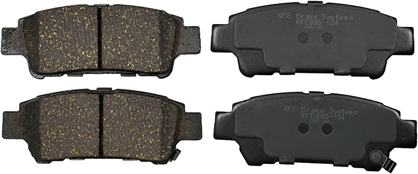 Premium Ceramic Disc Brake Pad REAR Set  Fits 2009-2016 Toyota Venza KFE1402