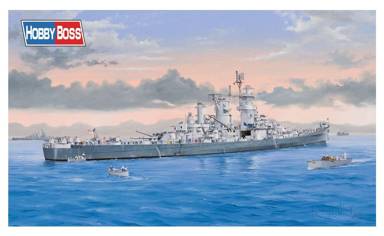 ホビーボス 1/350 戦艦シリーズ アメリカ海軍 大型巡洋艦グアムCB-2 プラモデル 86514 B0759K5CZ2