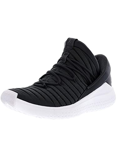 save off c1191 d7410 Image Unavailable. Image not available for. Color  Nike Men s Jordan Flight  Luxe Anthracite Black-White Ankle-High Fabric Basketball Shoe