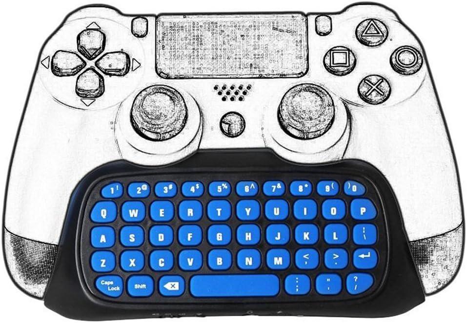 Welltop - Mini teclado inalámbrico para mando de videojuegos, de 2 ...