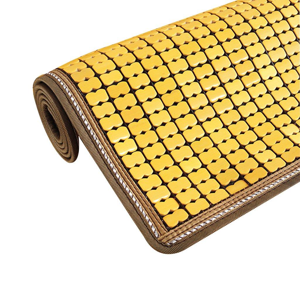 Chair Mats Sofa Cushion for Summer Cool pad Sofa mat Non-Slip Cloth Art Cushion Furniture Accessories (Color : Yellow, Size : 60180cm/2471inch)