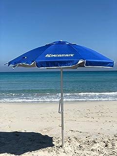 Offerte Ombrelloni Da Spiaggia.Sunphio Ombrellone Spiaggia Anti Uv Grande Antivento E