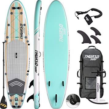 THURSO SURF Tabla Paddle Surf Hinchable Waterwalker 320 x 79 x 15 ...
