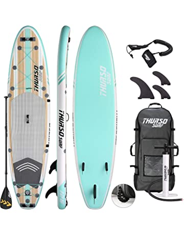 THURSO SURF Tabla de Paddle Sup Inflable Waterwalker 320 x 79 x 15 cm Construcción de