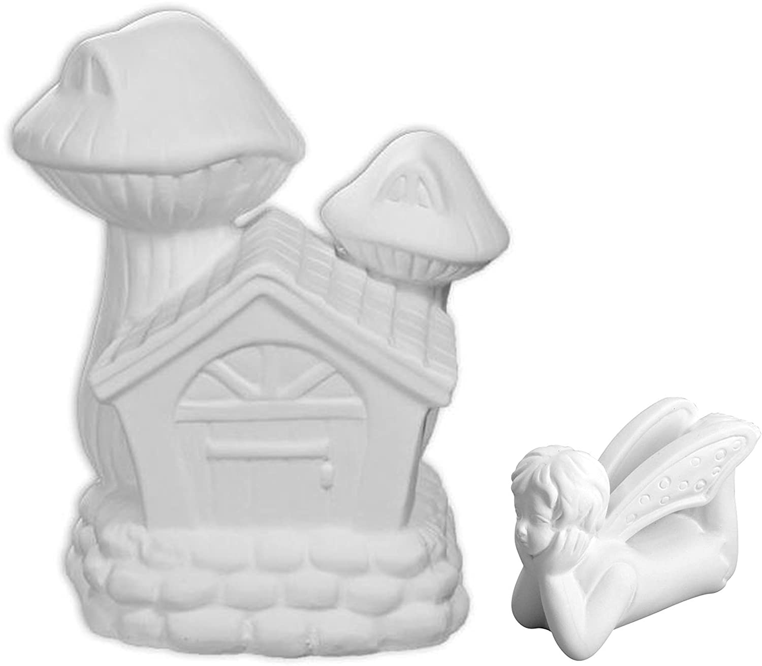 Little Penelope The Pixie Fairy and Her Fairy House - Paint Your Own Ceramic Keepsake New Hampshire Craftworks