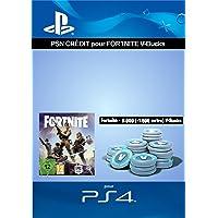 Crédit PSN pour Fortnite - 6.000 V-Bucks + 1.500 extra V-Bucks - 7.500 V-Bucks DLC   Code Jeu PS4 - Compte français
