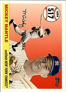 2006 Topps Mantle Home Run History #517 Mickey Mantle MLB Baseball Trading Card