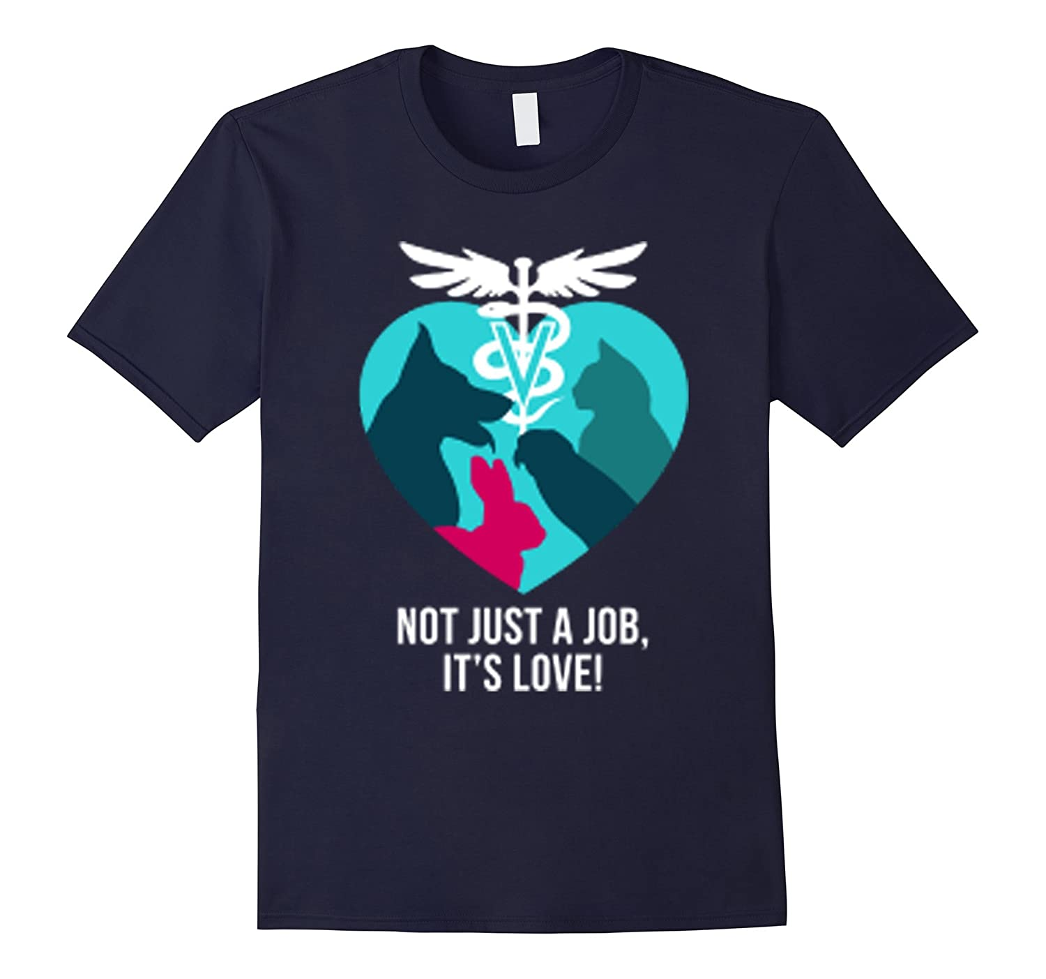 Vet tech Not just a job its LOVE tshirt-TD