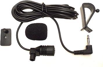 Augustcoco Mikrofon 3 5 Mm Externe Montage Für Auto Elektronik