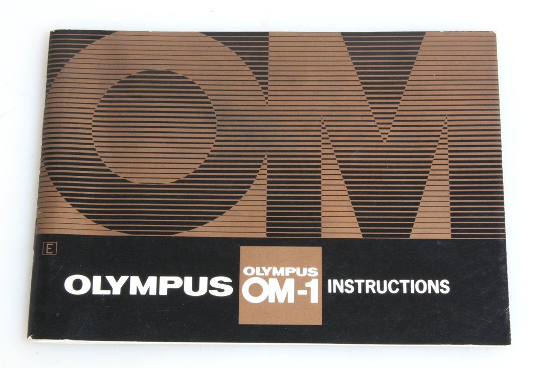 amazon com olympus om 1 instructions manual camera photo rh amazon com Olympus OM- D E-M5 Olympus OM- D Digital Came