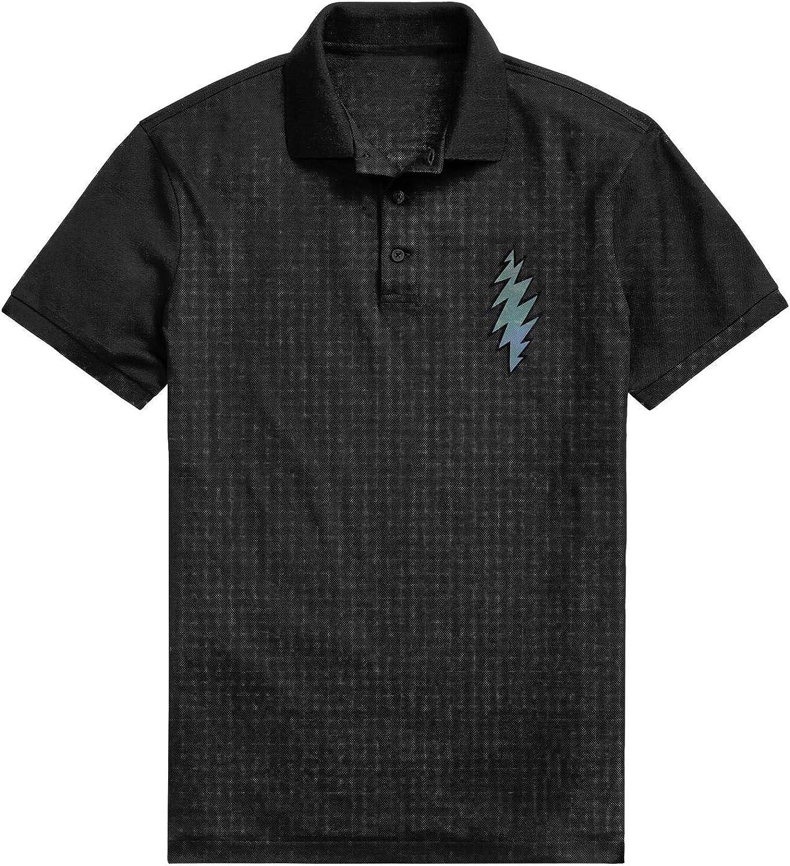 WZLAN Mens Polo Shirt Printed Graphic Novelty Soft Cotton Short Sleeve Tee