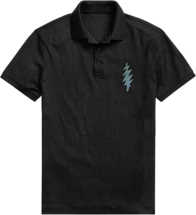 WZLAN Mens Polo Shirt Printed Graphic Classic Comfort Short Sleeve T-Shirt