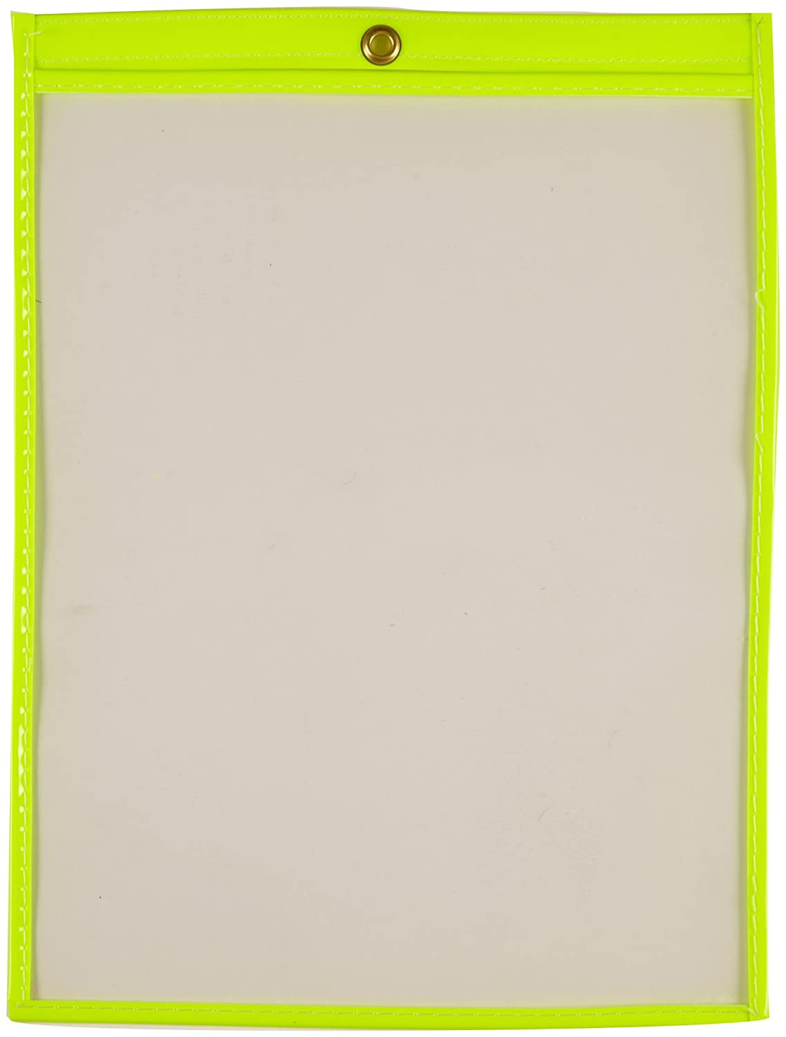 Brady 56948 12 Height Pack Of 25 9 Width Plastic Fluorescent Yellow Trimmed Color Fluorescent Shop Envelopes
