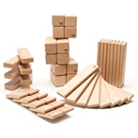 52-Piece Tegu Original Magnetic Wooden Block Set (Natural)