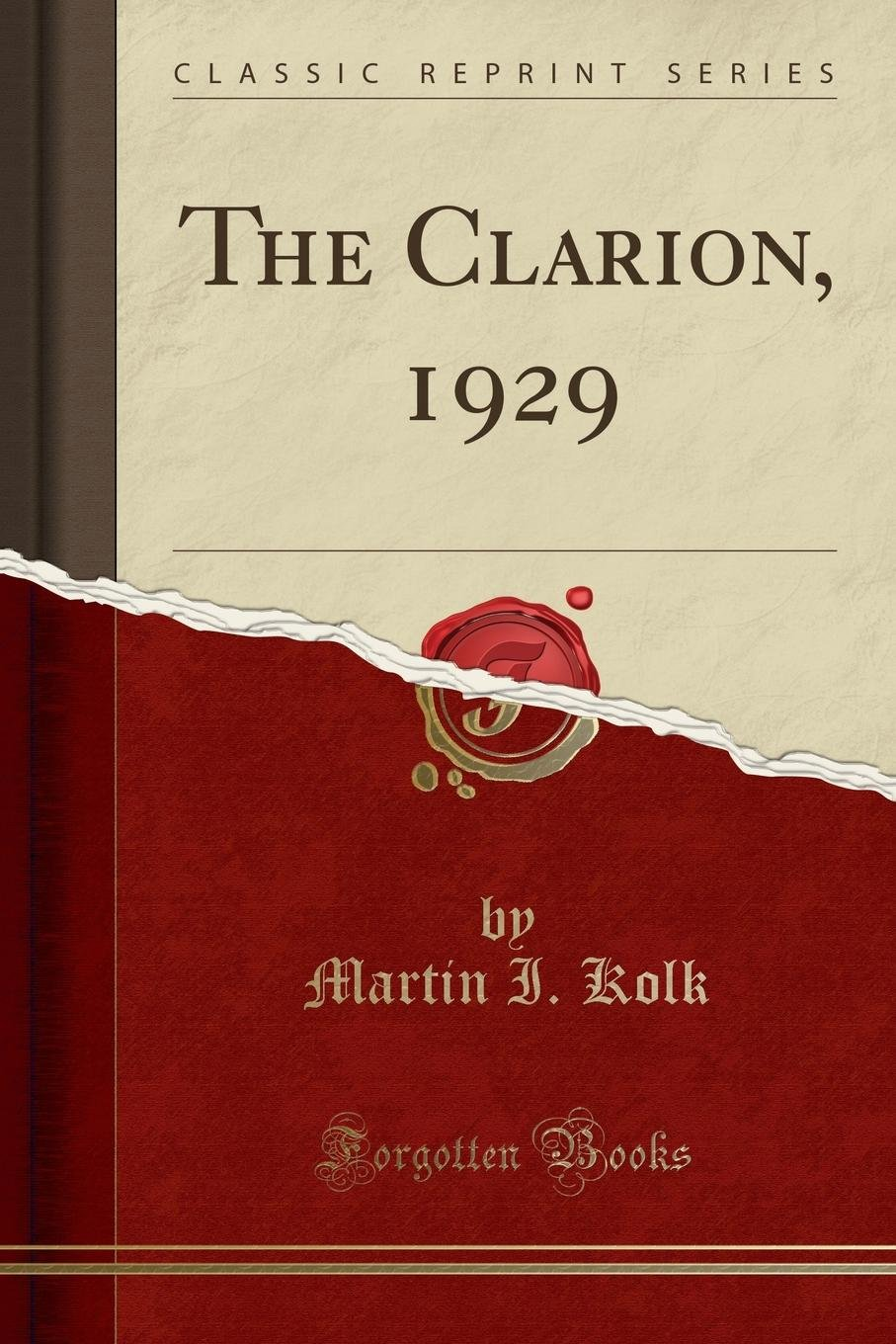 Download The Clarion, 1929 (Classic Reprint) PDF
