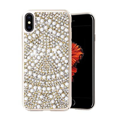 coque iphone x perle