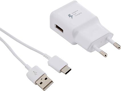 Samsung SAEPTA20EWE - Transformador carga rápida (15 W, 2 Amp, USB Tipo C)- Version española: Samsung: Amazon.es: Electrónica