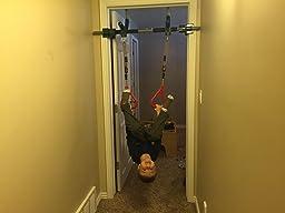 Amazon Com Gorilla Gym Kids Deluxe With Indoor Swing